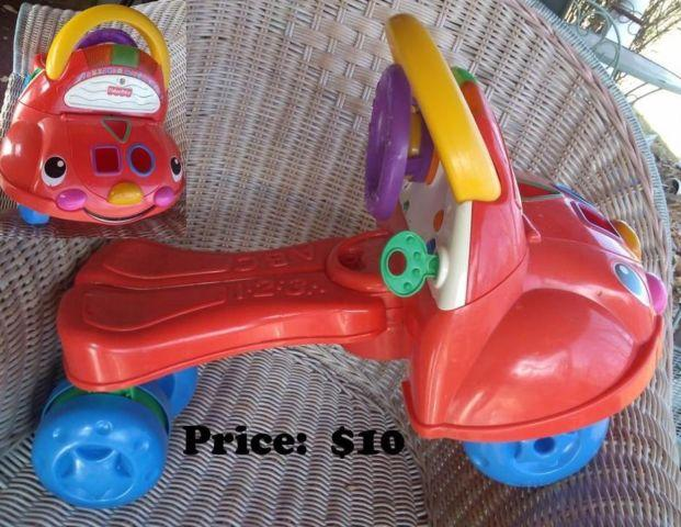 Childrens Riding Toys--Great for Under the Christmas Tree