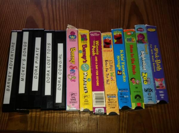 Children S Vhs Tapes For Sale In Memphis Tennessee