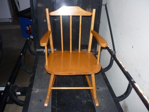 Childs Rocking Chair Claremore Ok For Sale In Tulsa Oklahoma Classified