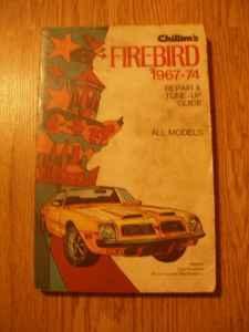 Chiltons Firebird 67-81 - $8 Hbg-Hershey