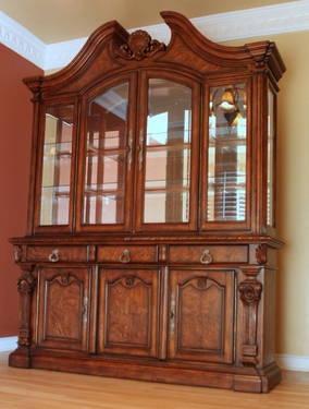 China Cabinet And Buffet By Ashley Furniture Casa Mollino