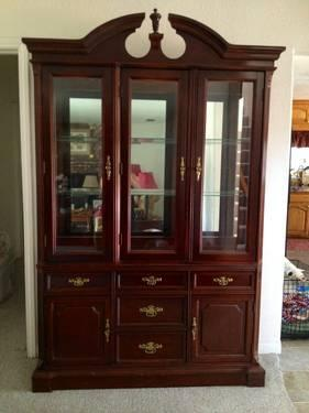 China Cabinet Bassett Used For Sale In Long Beach