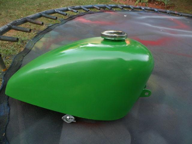 Chopper Gas Tank with Gas Cap and Petcock