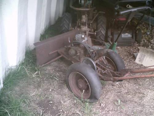 300 Garden Walk: Chor-Trac 2 Wheel Walk Behind Garden Tractor For Sale In