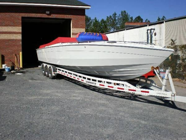 chris craft stinger 390 x big blocks trs mint trade for