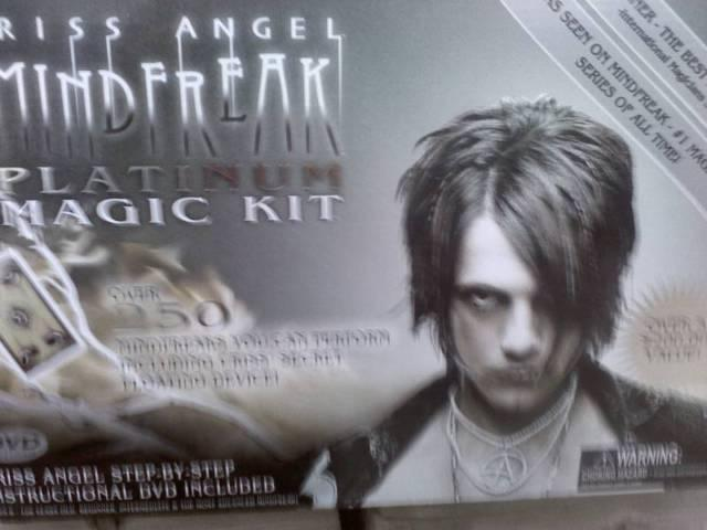Chriss Angel Platinum Magic Set