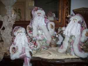 Christmas Going Out of Business Angels, Santas Ornaments etc.