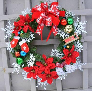 CHRISTMAS WREATH -