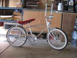 chrome lowrider bike - $200 (lvingston ca )