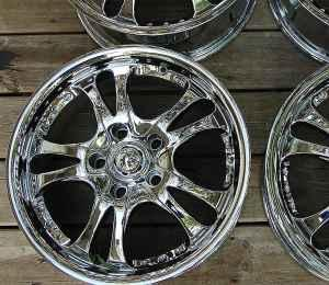 Buy Here Pay Here Waterloo Iowa >> Chrome Rims AR683 Casino Style each for Sale in Waterloo, Iowa Classified | AmericanListed.com