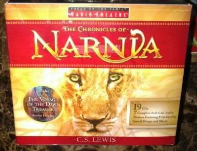 chronicles of narnia audiobook set