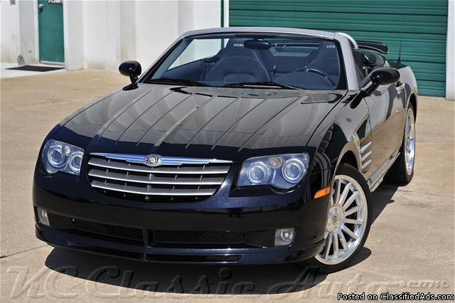 chrysler crossfire srt6 convertible for sale in pompano beach florida classified. Black Bedroom Furniture Sets. Home Design Ideas