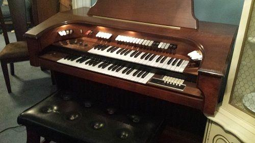 CHURCH ORGAN FOR SALE - VINTAGE RETRO ORGAN INSTRUMENT - SOLD AS IS