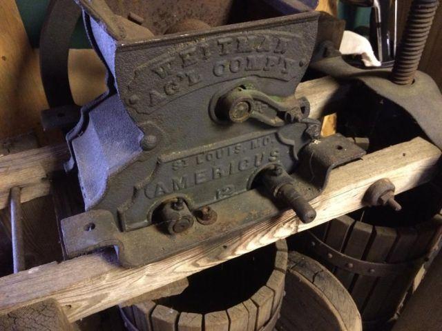 Cider Press - Antique Whitman Agri Company, AMERICUS