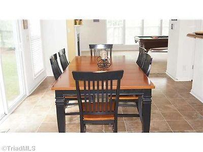 cindy crawford edition kitchen dining room table w 6