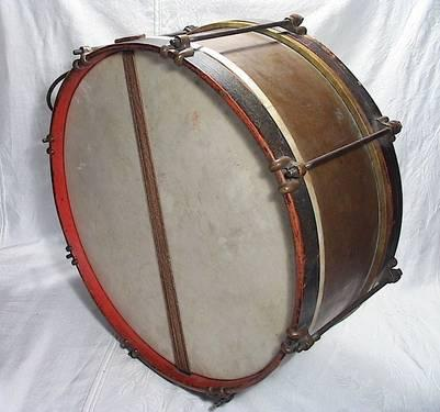 circa 1870 39 s marching military snare field drum exc orig condition for sale in concord ohio. Black Bedroom Furniture Sets. Home Design Ideas