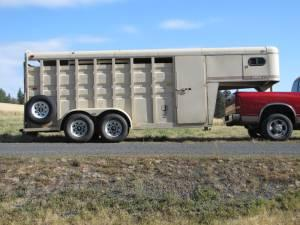 Circle J 4 Horse Stock Trailer Cheney For Sale In