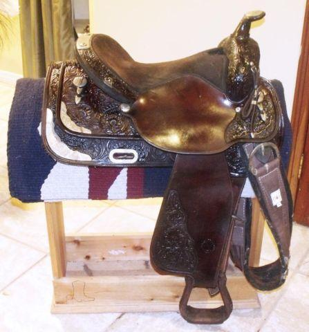 Circle Y Equitation Show Saddle For Sale In Homestead Florida
