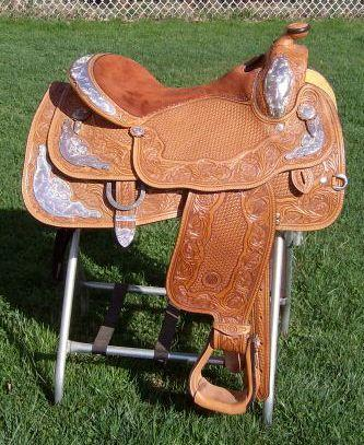 Circle Y Show Saddle-16-17in  - (Mansfield,Ohio) for Sale in