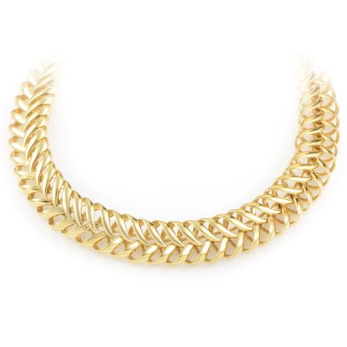Citra Women's 18K Yellow Gold Choker Necklace