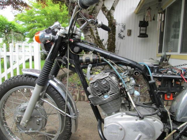 Cl77 1967 honda 305 scrambler for sale in gresham oregon for Gresham honda service