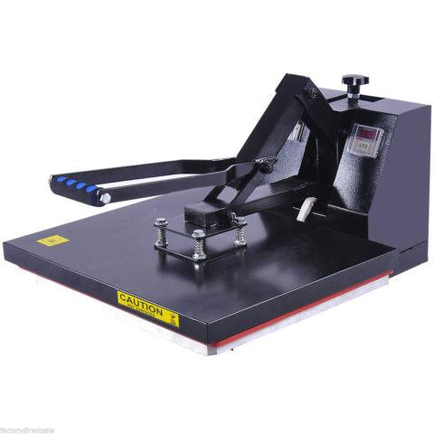 Clamshell Heat Press Transfer T-Shirt Sublimation Machine
