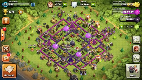 Clash of Clans account - $300