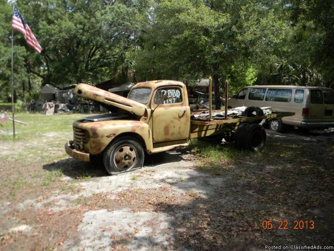 classic 1947 ford army truck for sale in inglis florida classified. Black Bedroom Furniture Sets. Home Design Ideas