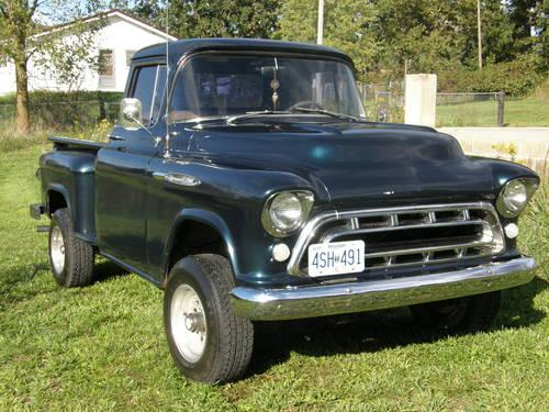 classic 1955 chevy shortbed truck starting at for sale in licking missouri classified. Black Bedroom Furniture Sets. Home Design Ideas