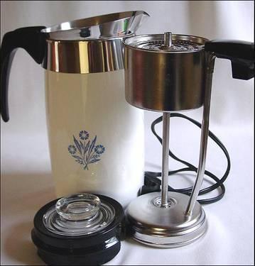 CLASSIC 1960's CorningWare Coffee Percolator for Sale in ...