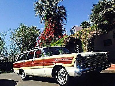 Classic 1965 ford country squire wagon for sale in palm for Ford palm springs motors