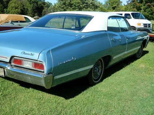 1967 67 Chevrolet Impala Ss 396 2 Door Hardtop 4 Sd 427 M22 Z24