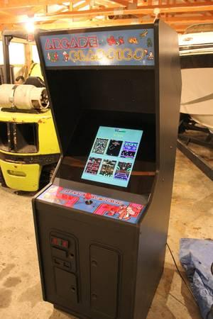 CLASSIC ARCADE MACHINE GAME Galaga PACMAN - $775