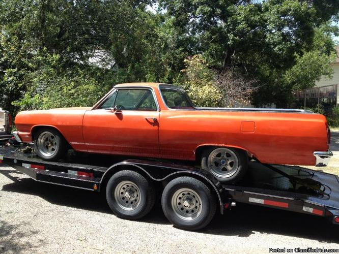 Classic El Camino 64 Firebird 69 And Duster 73 For Sale
