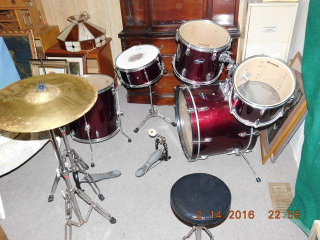 Classic Ludwig Drum Set Complete