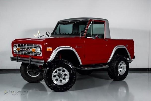 Classic Restoration Bronco! V8 302 Auto! Custom Paint, Seats, Carpet WOW!,  $ 24,888