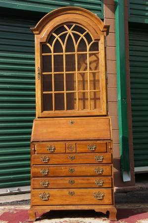 Classic thomasville 2 piece fisher park secretary chest American classic furniture company