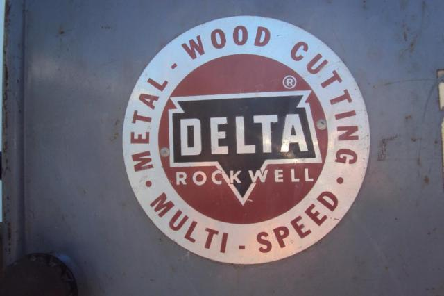 Classic Vintage Delta Rockwell 14 Metal  Wood Band Saw