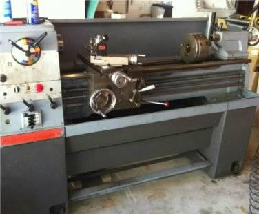 CLAUSING COLCHESTER LATHE 13
