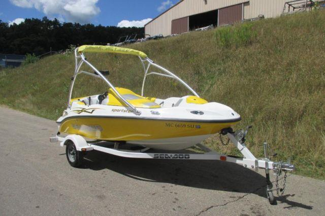 Clean 2005 Sea Doo Sportster 4 Tec With Wake Tower For