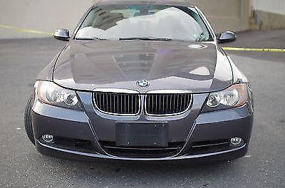 Clean 2006 BMW 325i Grey Exterior, Black Interior
