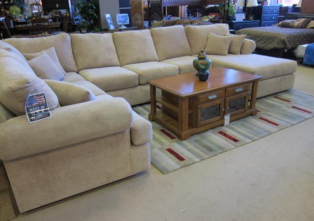 Superieur Huge 3pc MD Sectional   $1800 (LIFESTYLE