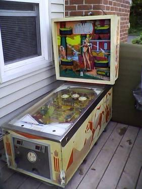 Cleopatra Pinball By D. Gottlieb  Company of 1977