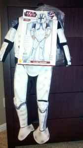 Clone-Trooper Costume - $15 (Modesto)