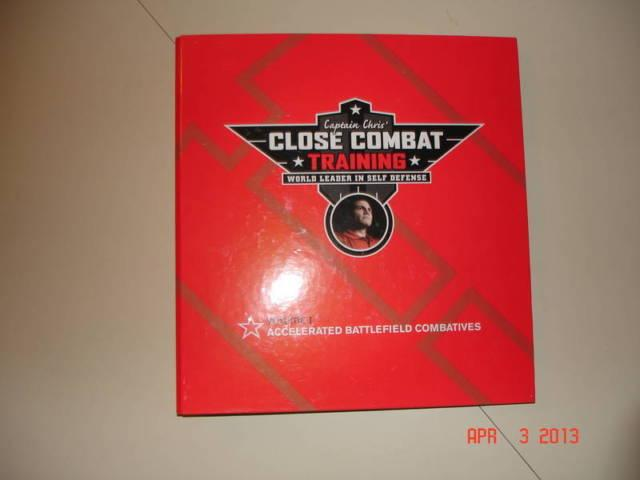 ''CLOSE COMBAT TRAINING'' BY CAPTAIN CHRIS - 8 DVD