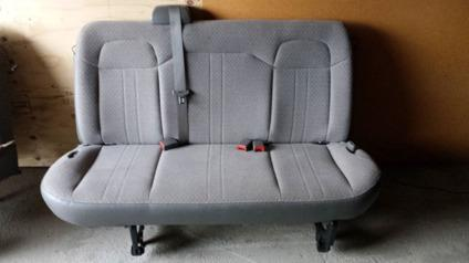 cloth van seats