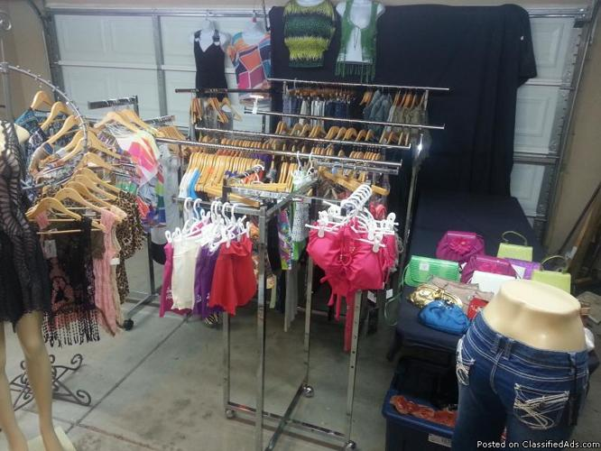 Clothing & Racks for sale