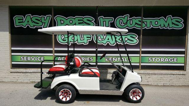Yamaha Golf Cart Red Html on