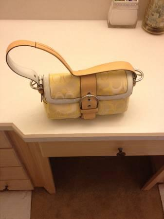 Coach purse- barely used - $40