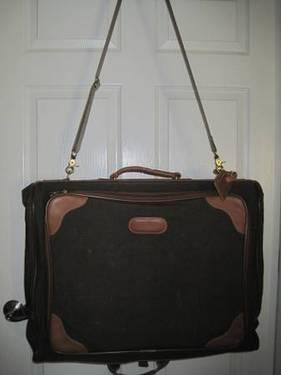 Coach Suit Garment Bag Made In Usa Serial No C5p 0562
